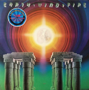 Earth, Wind & Fire ‎- I Am (LP) (VG/G++)